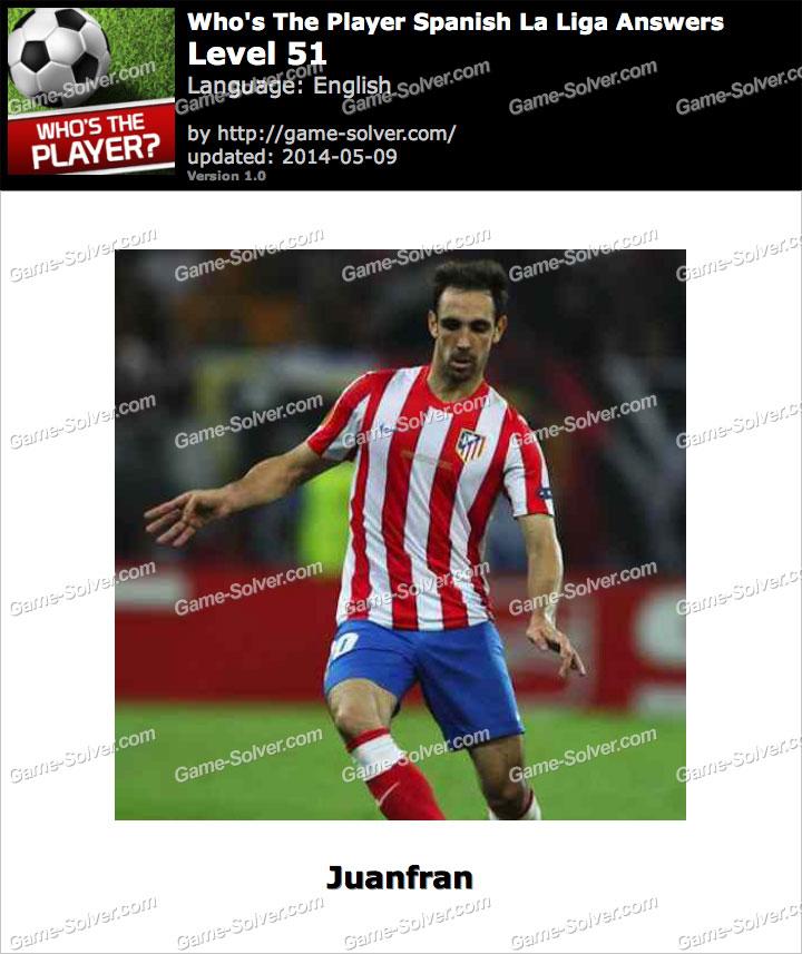 Who's The Player Spanish La Liga Level 51
