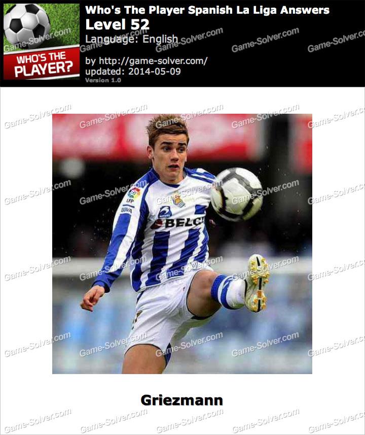 Who's The Player Spanish La Liga Level 52