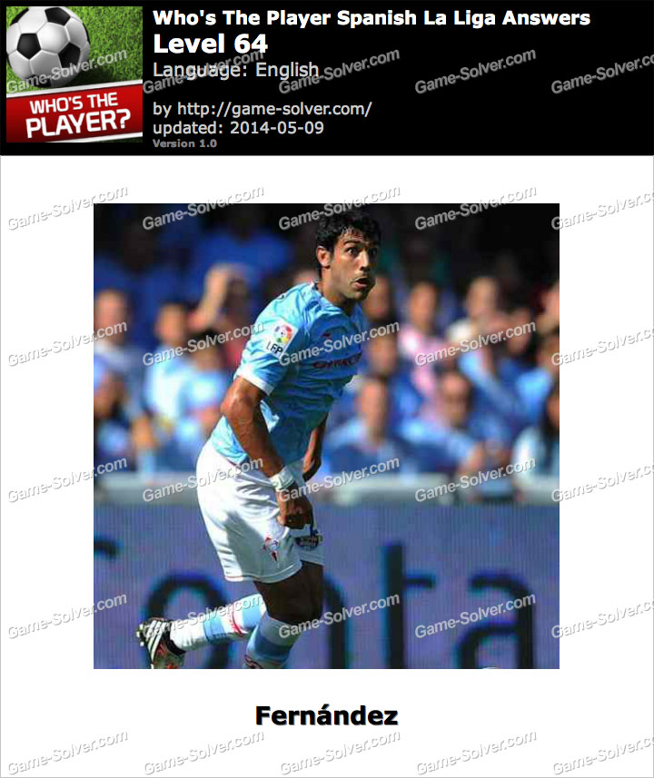 Who's The Player Spanish La Liga Level 64