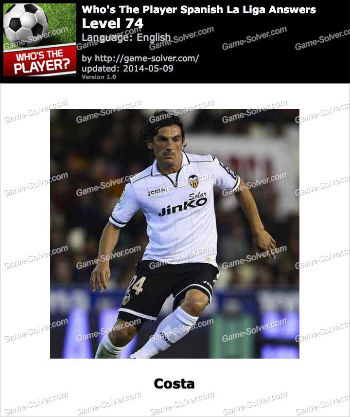 Who's The Player Spanish La Liga Level 74