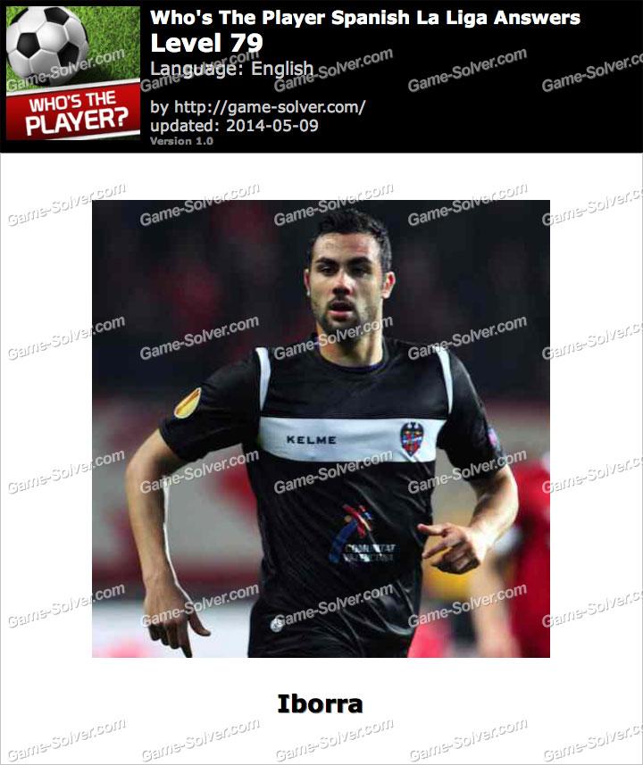 Who's The Player Spanish La Liga Level 79