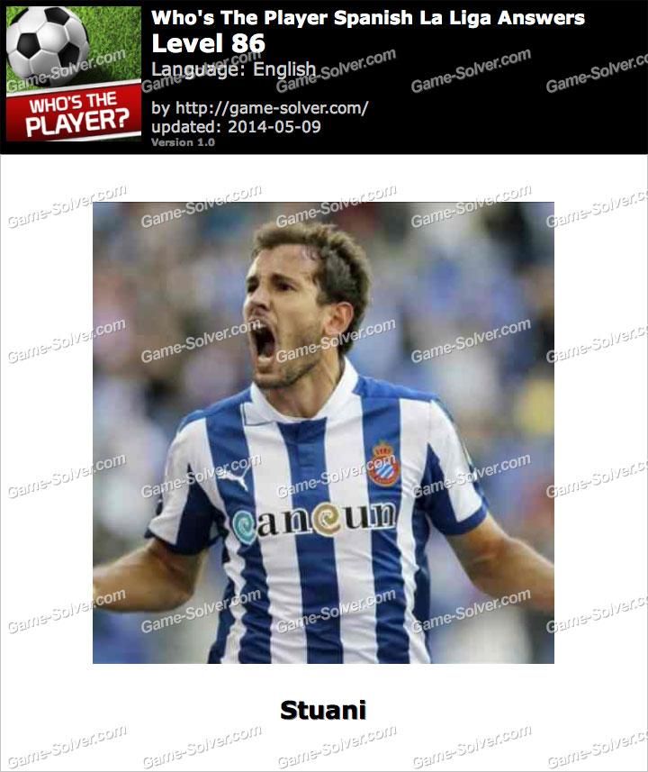 Who's The Player Spanish La Liga Level 86