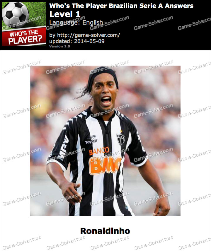 Who's The Player Brazilian Serie A Level 1