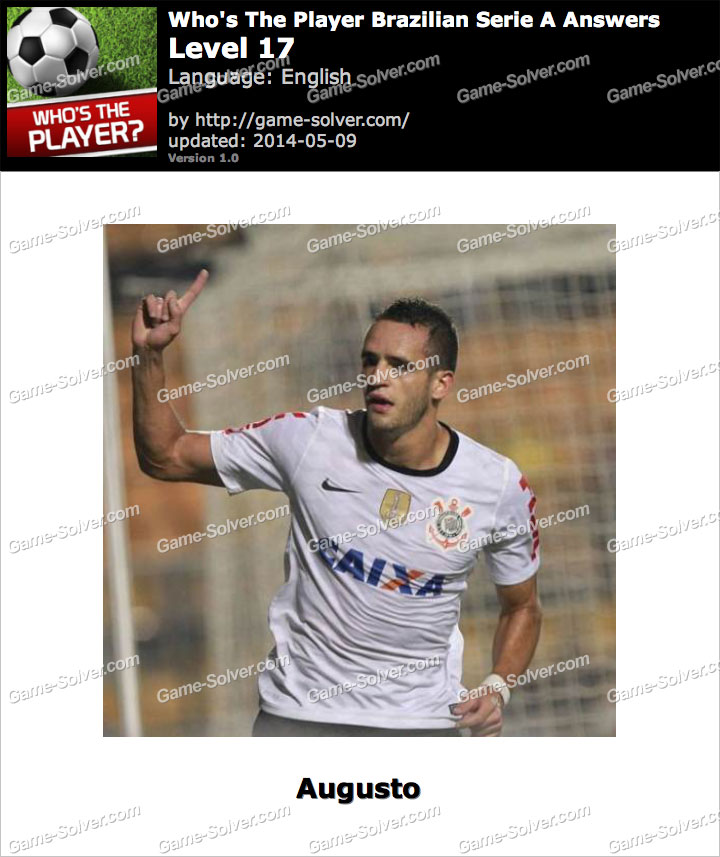 Who's The Player Brazilian Serie A Level 17