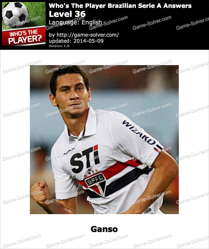 Who's The Player Brazilian Serie A Level 36