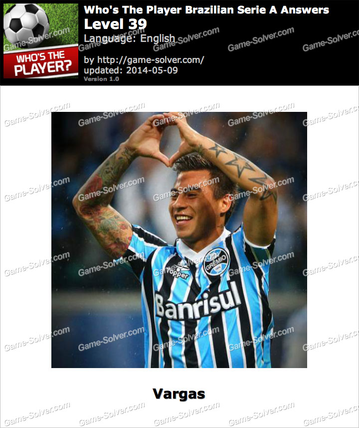 Who's The Player Brazilian Serie A Level 39