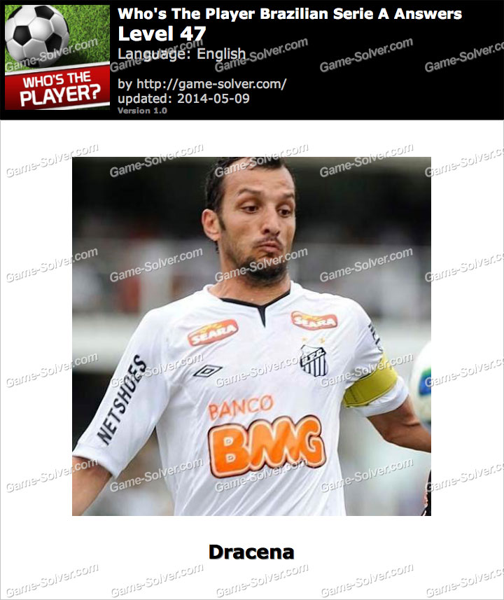 Who's The Player Brazilian Serie A Level 47