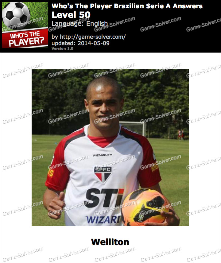 Who's The Player Brazilian Serie A Level 50