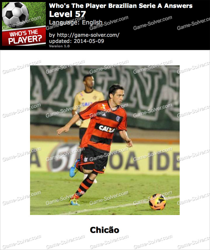 Who's The Player Brazilian Serie A Level 57