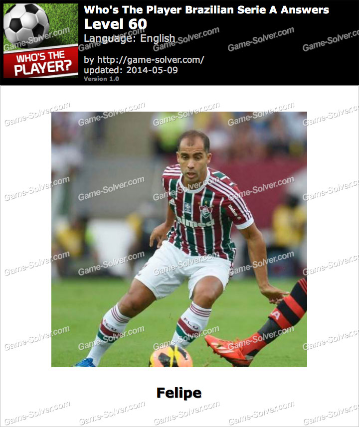 Who's The Player Brazilian Serie A Level 60