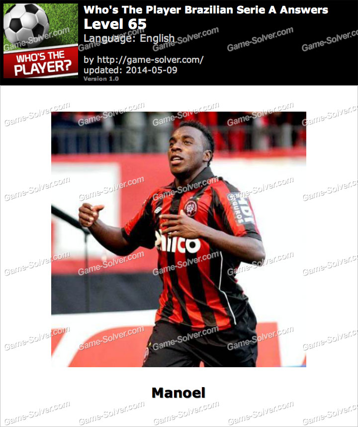 Who's The Player Brazilian Serie A Level 65
