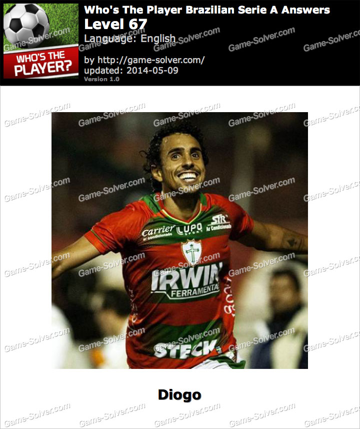 Who's The Player Brazilian Serie A Level 67