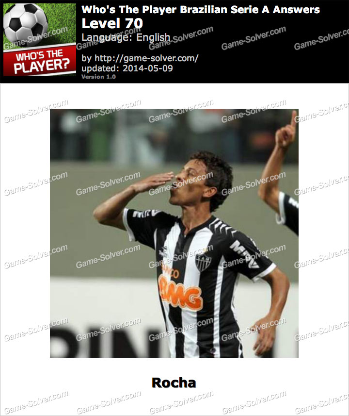 Who's The Player Brazilian Serie A Level 70