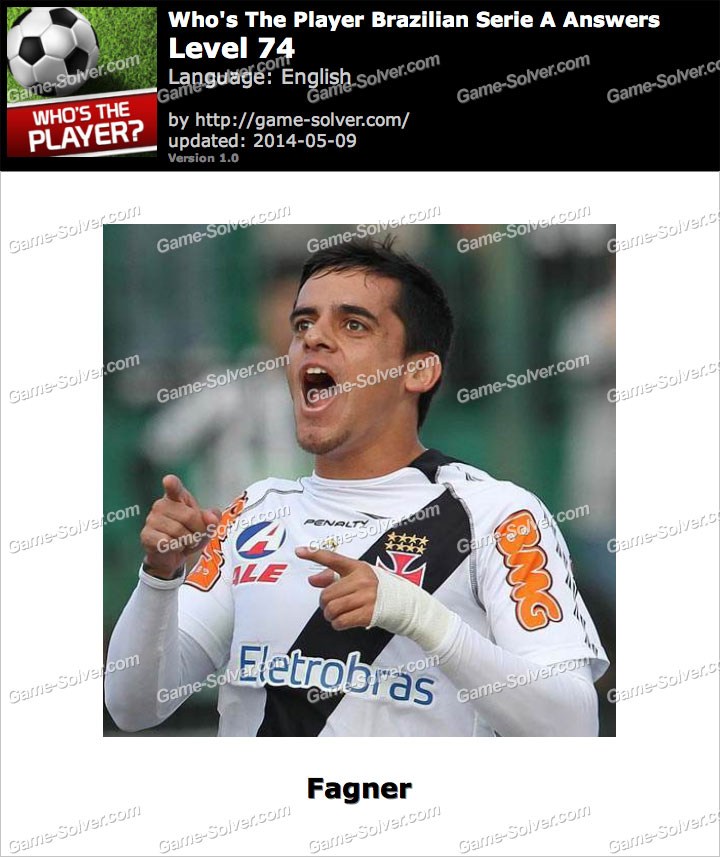 Who's The Player Brazilian Serie A Level 74
