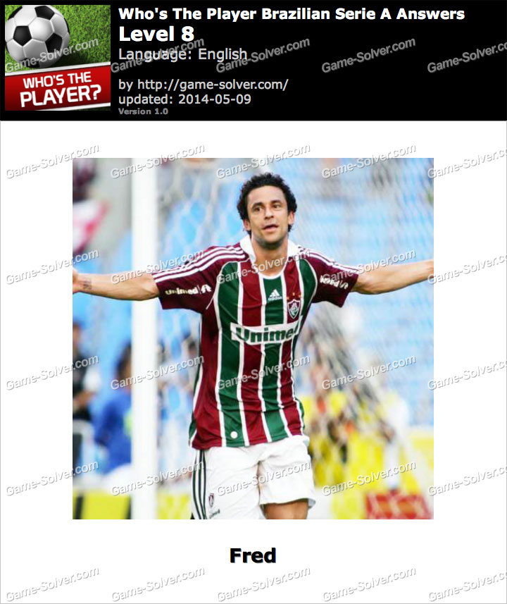 Who's The Player Brazilian Serie A Level 8