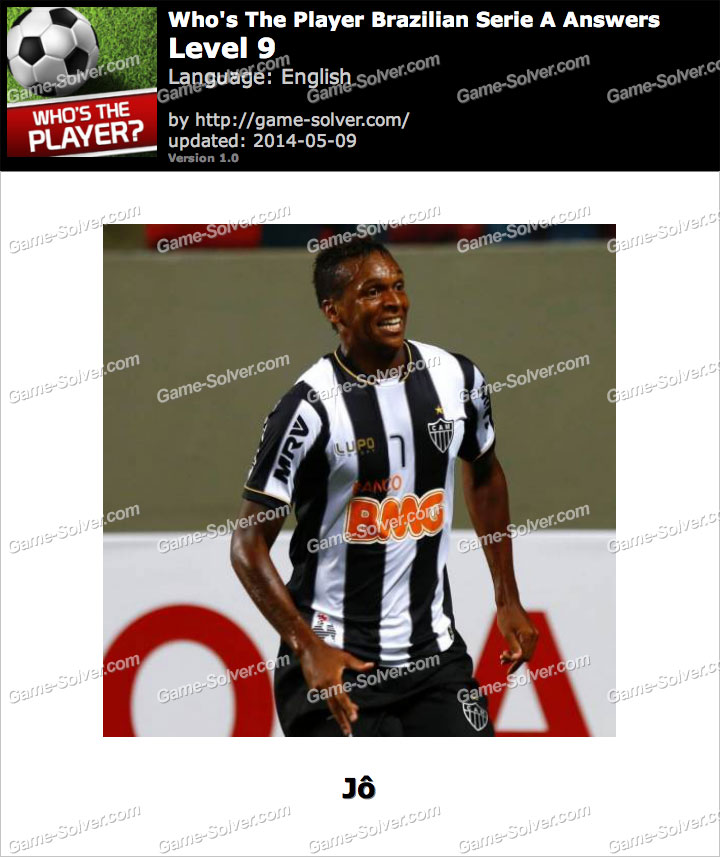 Who's The Player Brazilian Serie A Level 9