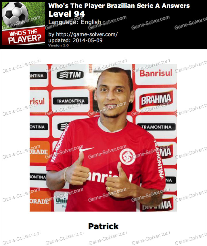 Who's The Player Brazilian Serie A Level 94