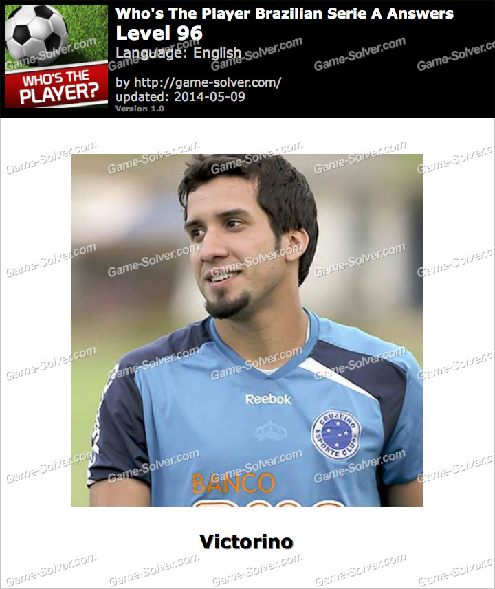 Who's The Player Brazilian Serie A Level 96