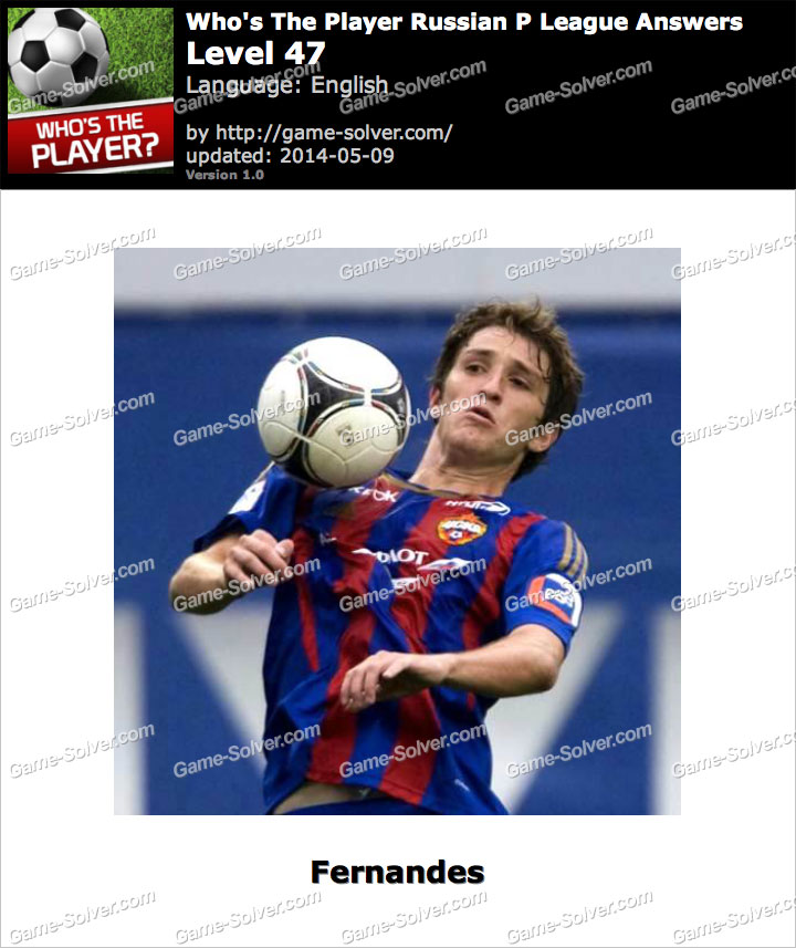 Who's The Player Russian P League Level 47