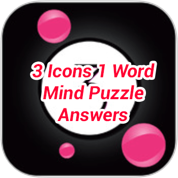 3 Icons 1 Word Mind Puzzle Answers