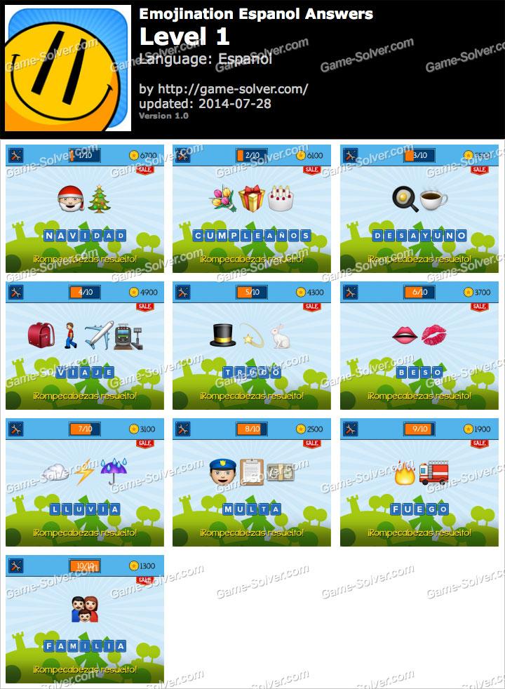 EmojiNation Espanol Nivel 1
