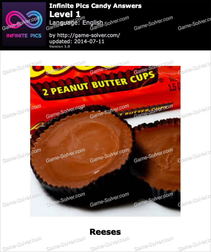 Infinite Pics Candy Level 1