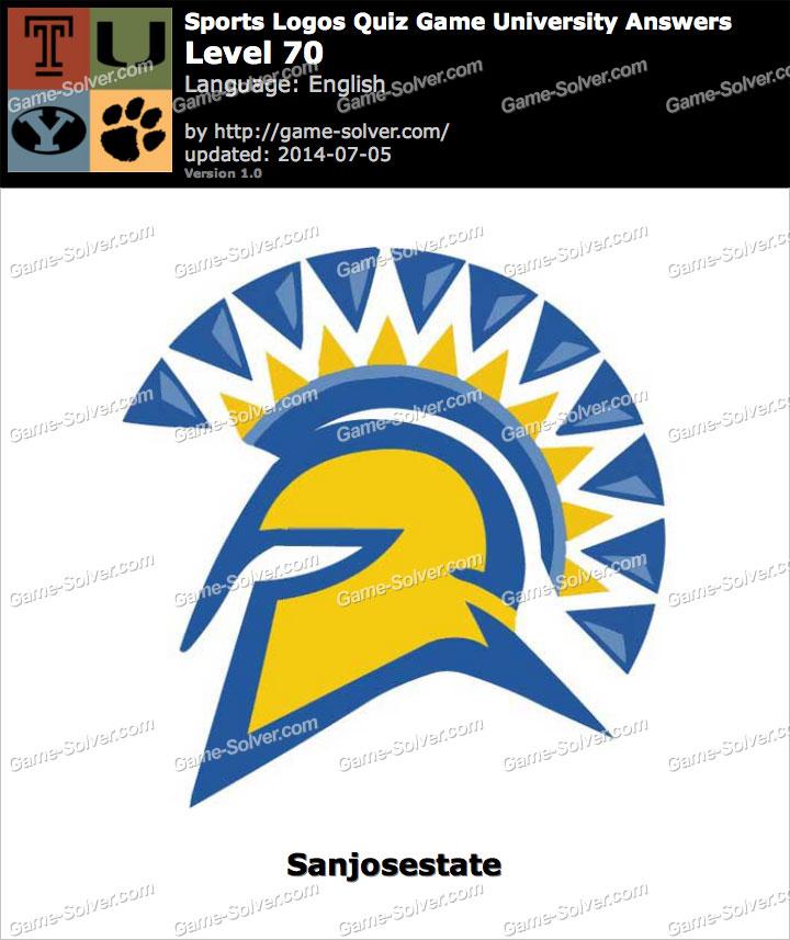 Sports Logos Quiz Game University Level 70