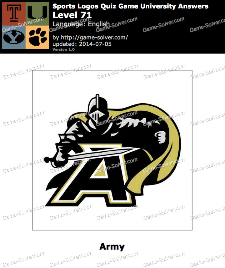 Sports Logos Quiz Game University Level 71