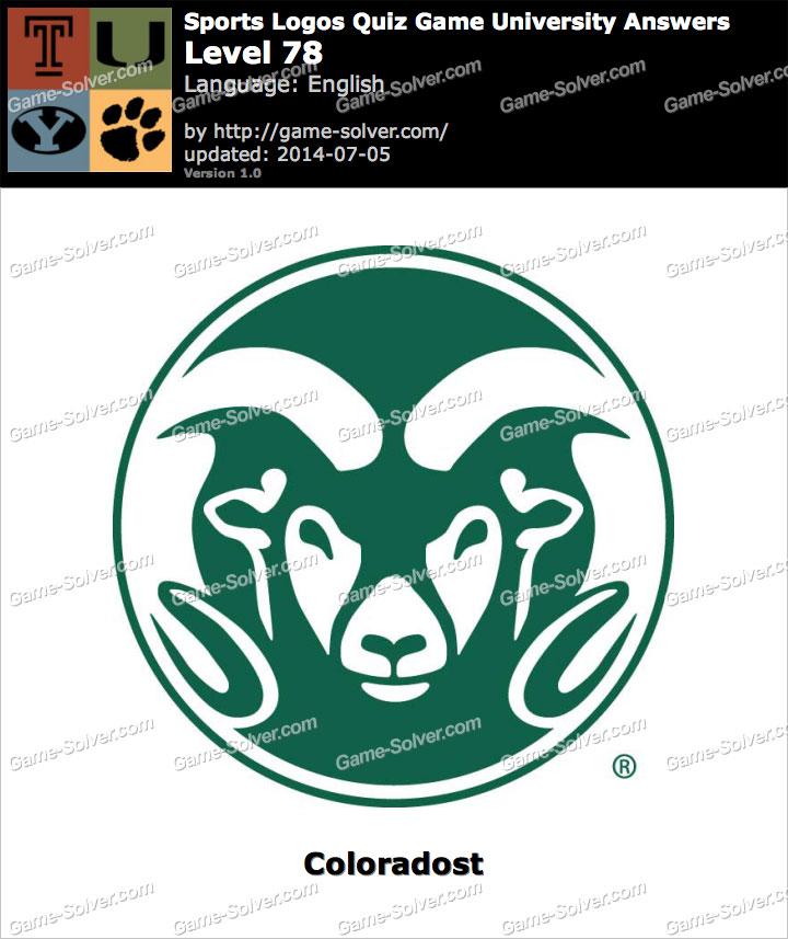Sports Logos Quiz Game University Level 78