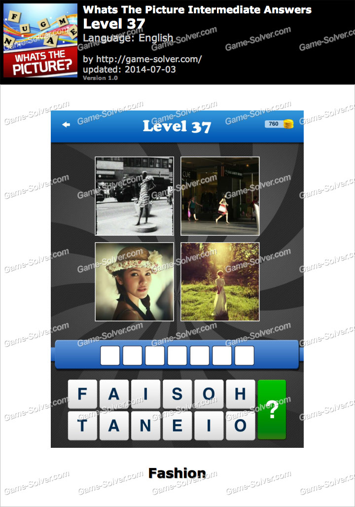 Whats The Picture Intermediate Level 37
