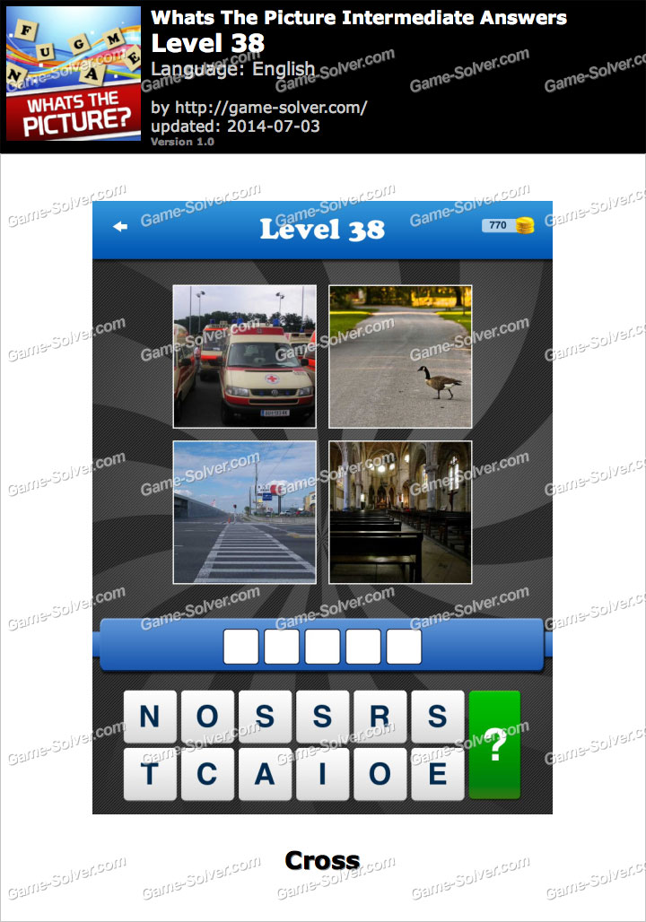 Whats The Picture Intermediate Level 38