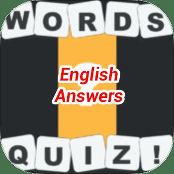 Words Quiz Answers English