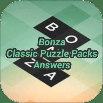 Bonza Classic Puzzle Packs Answers