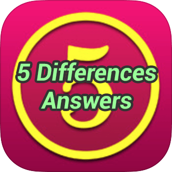 5 Differences Answers - Game Solver