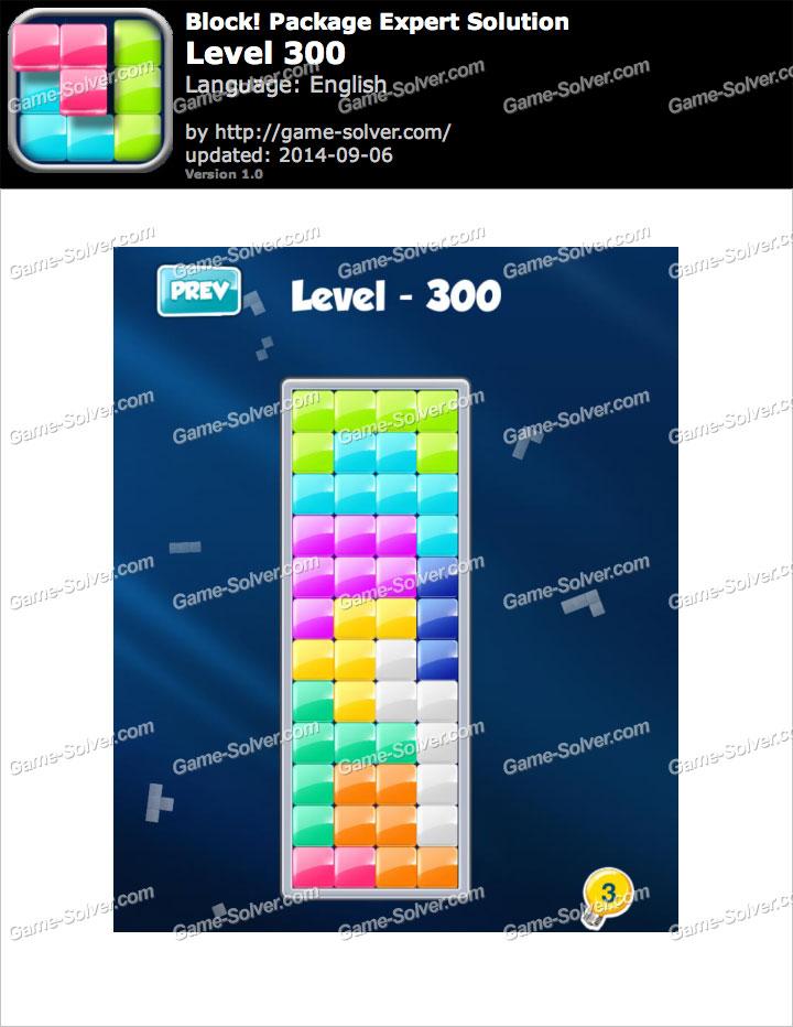 Block! Package Expert Level 300