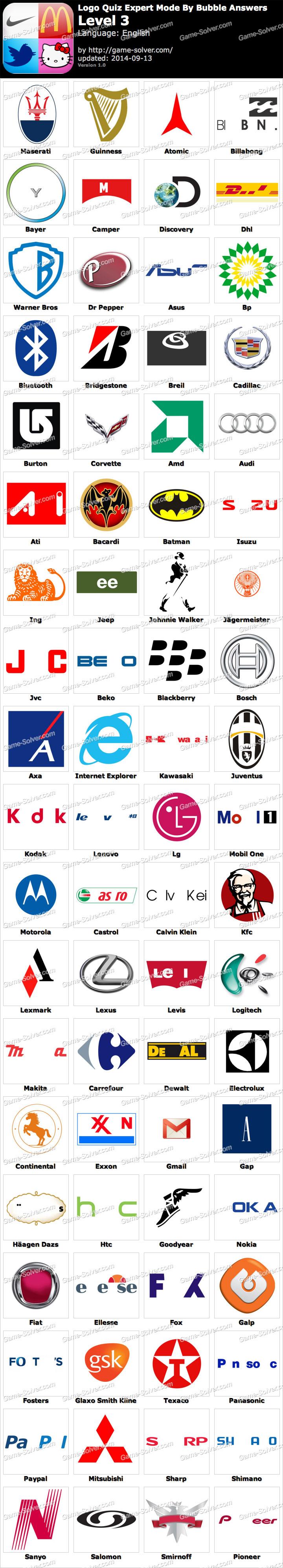 Logo Quiz Respuestas : respuestas, Expert, Bubble, Level, Solver