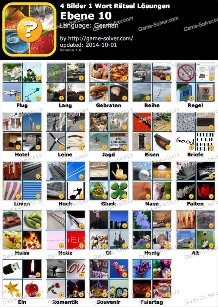 4 Bilder 1 Wort Sticker