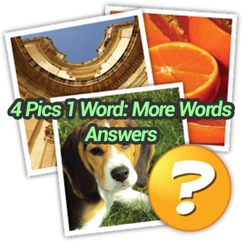 4 Pics 1 Word More Words Answers