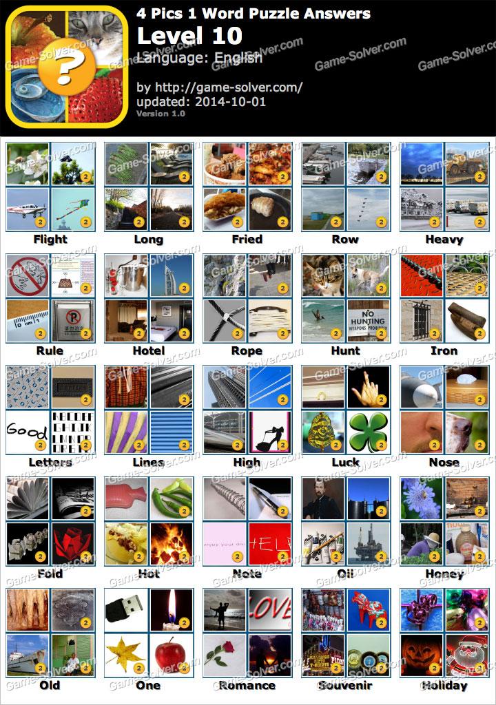 4 Pics 1 Word Puzzle Level 1