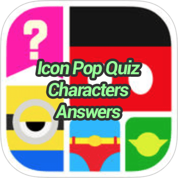 Icon Pop Quiz Characters Answers - Game Solver
