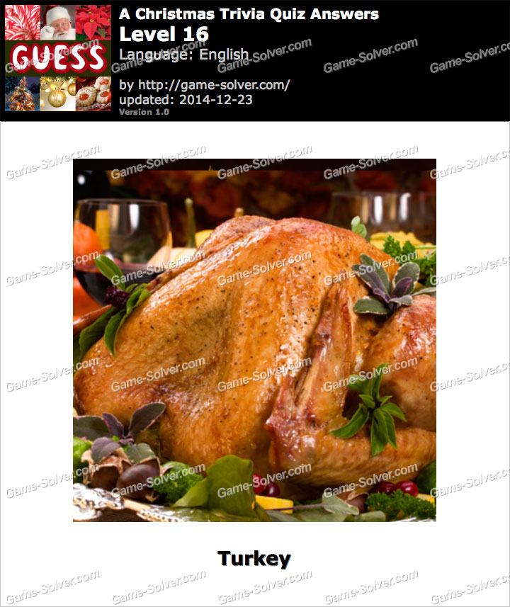 A Christmas Trivia Quiz Level 16