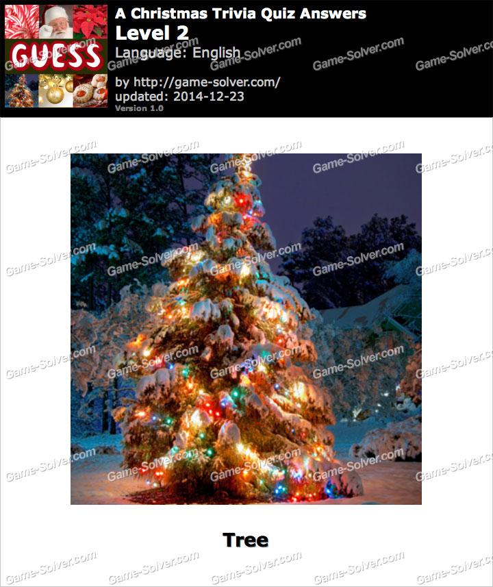 A Christmas Trivia Quiz Level 2