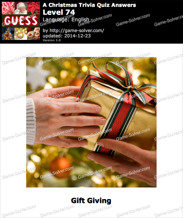 Christmas Trivia Questions With Answers  a christmas trivia quiz