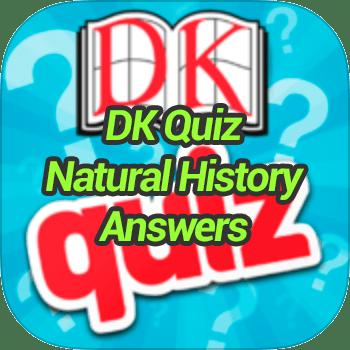 DK Quiz Natural History Answers