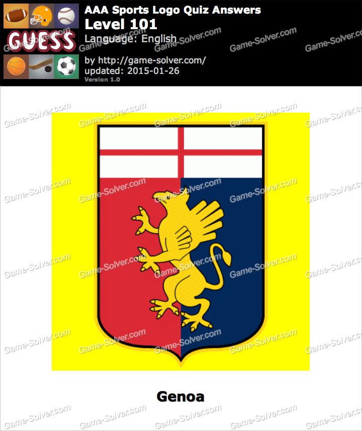 AAA Sports Logo Quiz Level 101