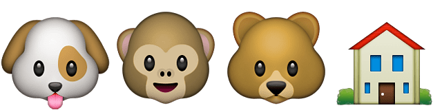 Guess Up Emoji Animal House
