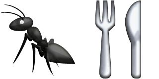 Guess Up Emoji Anteater
