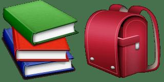 Guess Up Emoji Book Bag