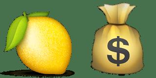 Guess Up Emoji Buy A Lemon