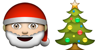 Guess Up Emoji Christmas